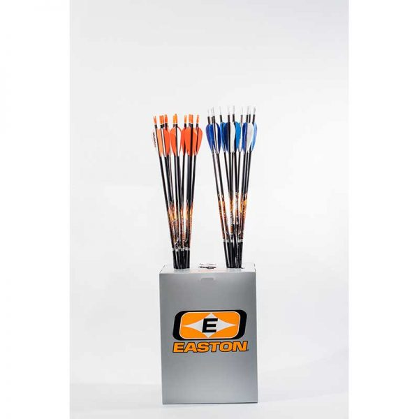 Easton XX75 Tribute Aluminum Arrows with Fletchings