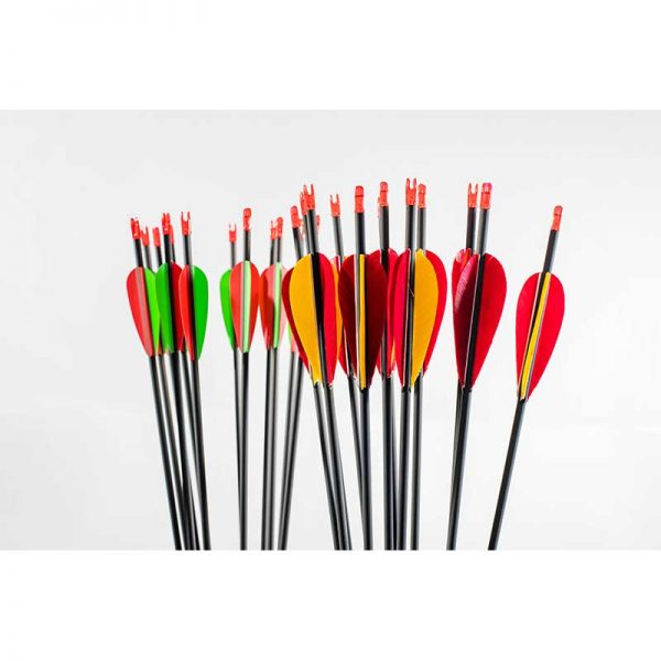 Carbon Pro Rockets Arrows with Fletchings