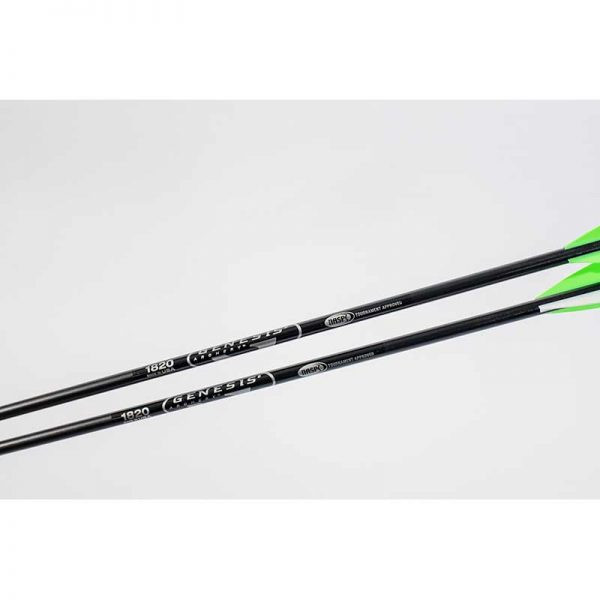 NASP Genesis Aluminum Arrows with Vanes