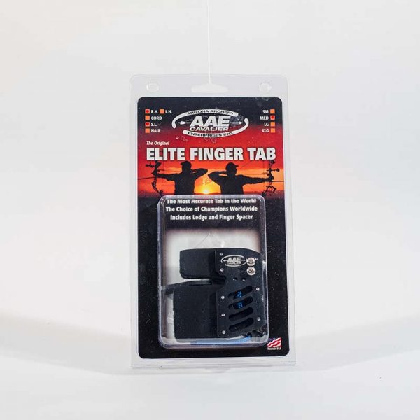 AAE Elite Finger Tab w Super Leather Facing