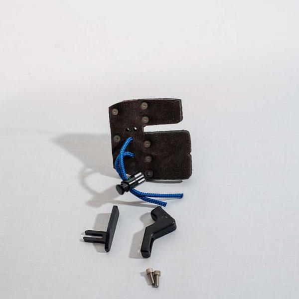 AAE Elite Finger Tab w Super Leather Facing