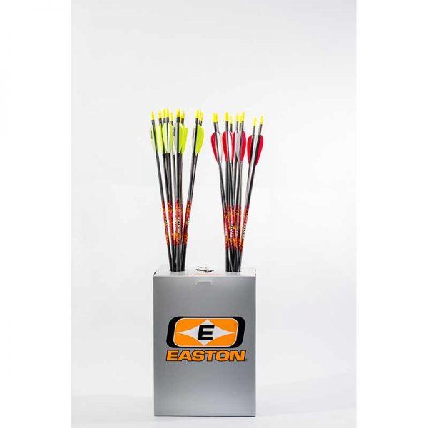 Beman ICS Hunter Jr Arrows with Fletchings