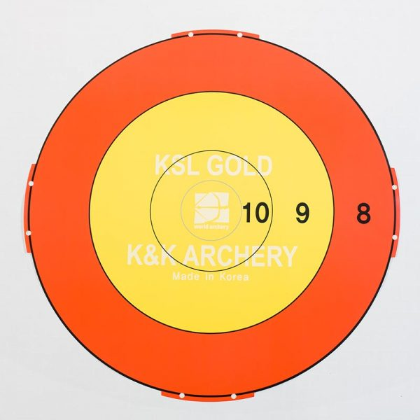 "KSL Gold 48""/122cm Stick On Target Patch"